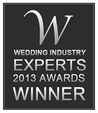 Wedding Industry Experts winner of Best Destination Wedding Planner 2013