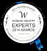 Wedding Industry Experts winner of Best Destination Wedding Planner 2014