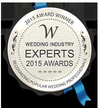 Wedding Industry Experts winner of Best Destination Wedding Planner 2015