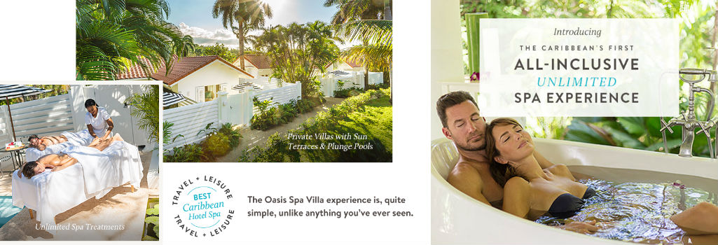 Oasis Spa Villas Couples Tower Isles