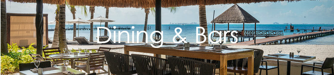 Dining and Bars Isla Mujeres Palace