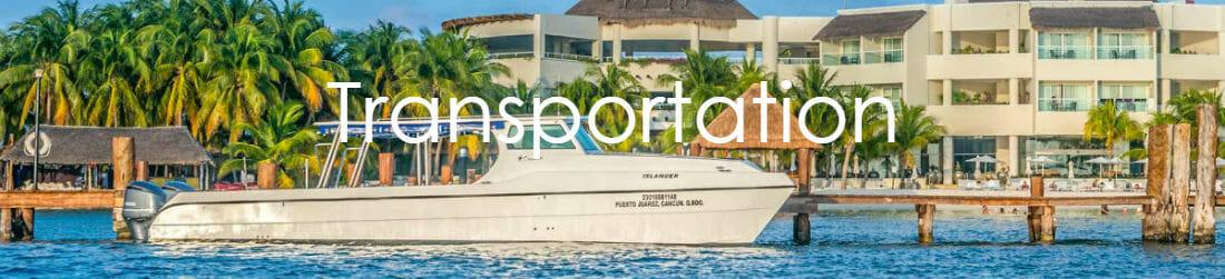 Catamaran to Isla Mujeres Palace
